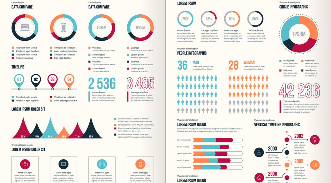 Business Infographic Set for Adobe Illustrator