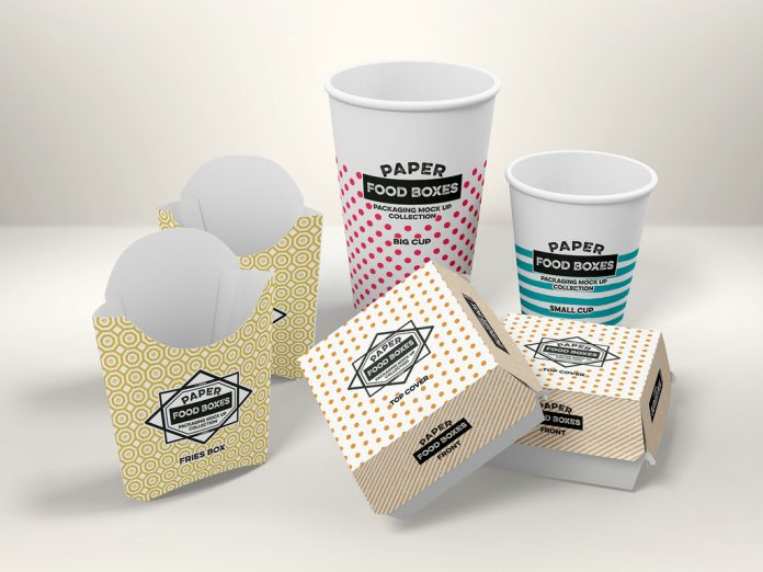 Fast-food packaging.