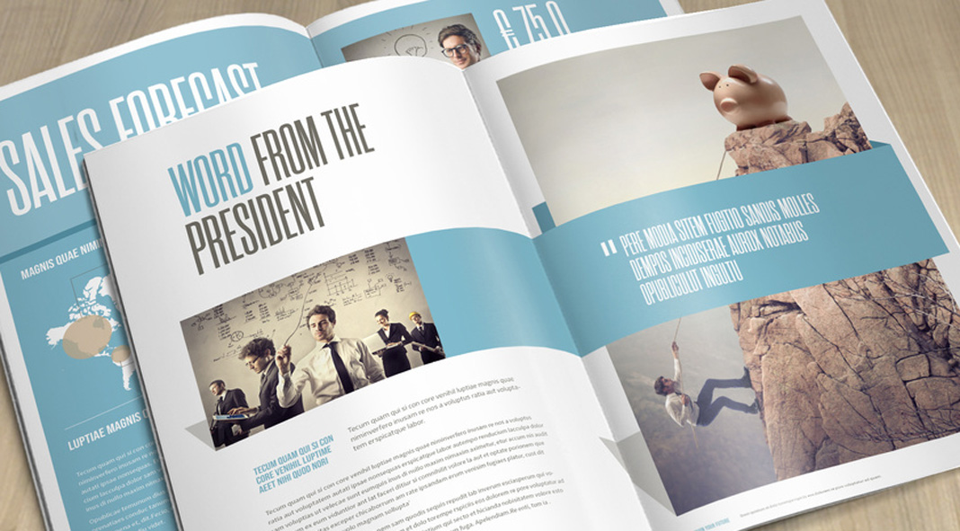 Five must-have brochure design templates for Adobe InDesign.