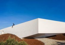House in São Bartolomeu de Messines, Portugal by Vitor Vilhena Architects.