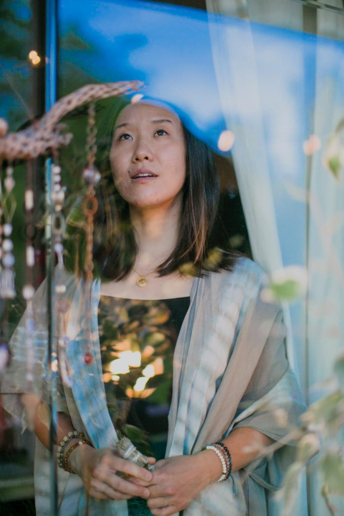 Jane Choi, DJ and sound healer, energy worker, Echo Park, Los Angeles