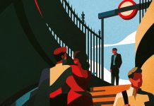 London illustrations by Charlie Davis.