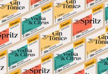 Schweppes Premium Drinks — branding case study by Pharus Design.