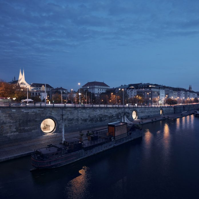 A revitalization of the Prague riverfront area by Petr Janda I Brainwork.