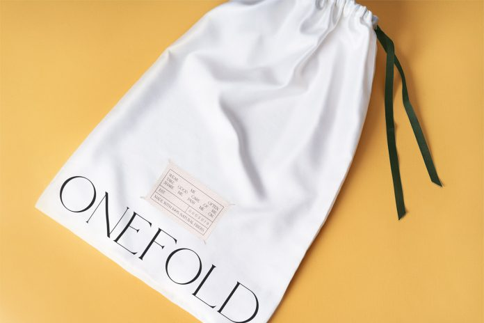 Onefold branding by graphic design studio Futura.