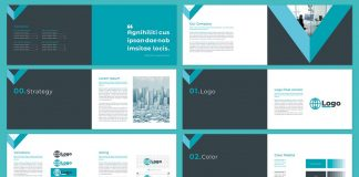 Brand Guidelines Template by McLittle Stock