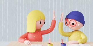 Children's communication design by Get it Studio for Swiss Cancer Associations.