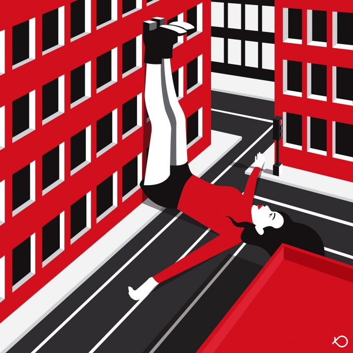 Loneliness 1 - Illustration by Kostis Pavlou