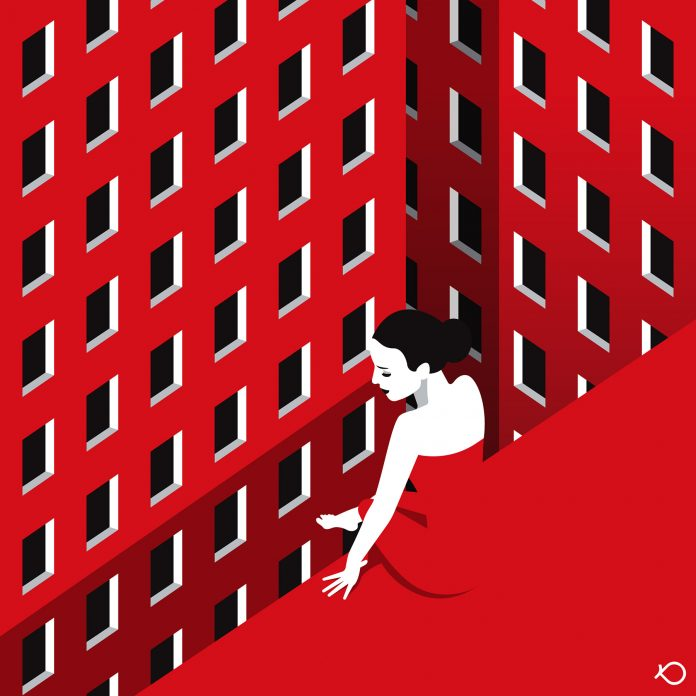 Loneliness 2 - Illustration by Kostis Pavlou