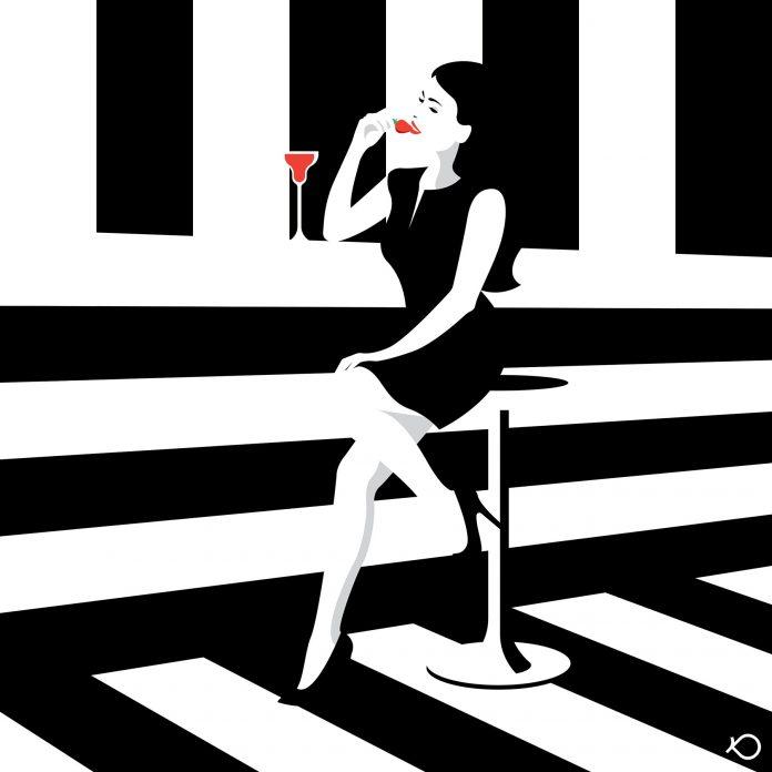 Strawberry Bar - Illustration by Kostis Pavlou