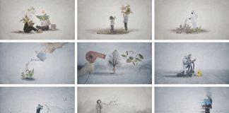 à la fin, a short animated film by Nicolas Lichtle.