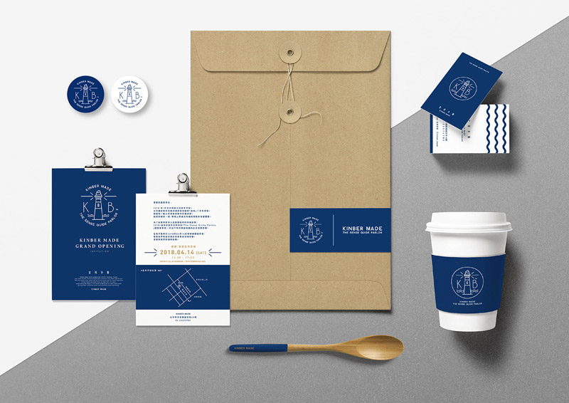 KINBER MADE branding by Filter017
