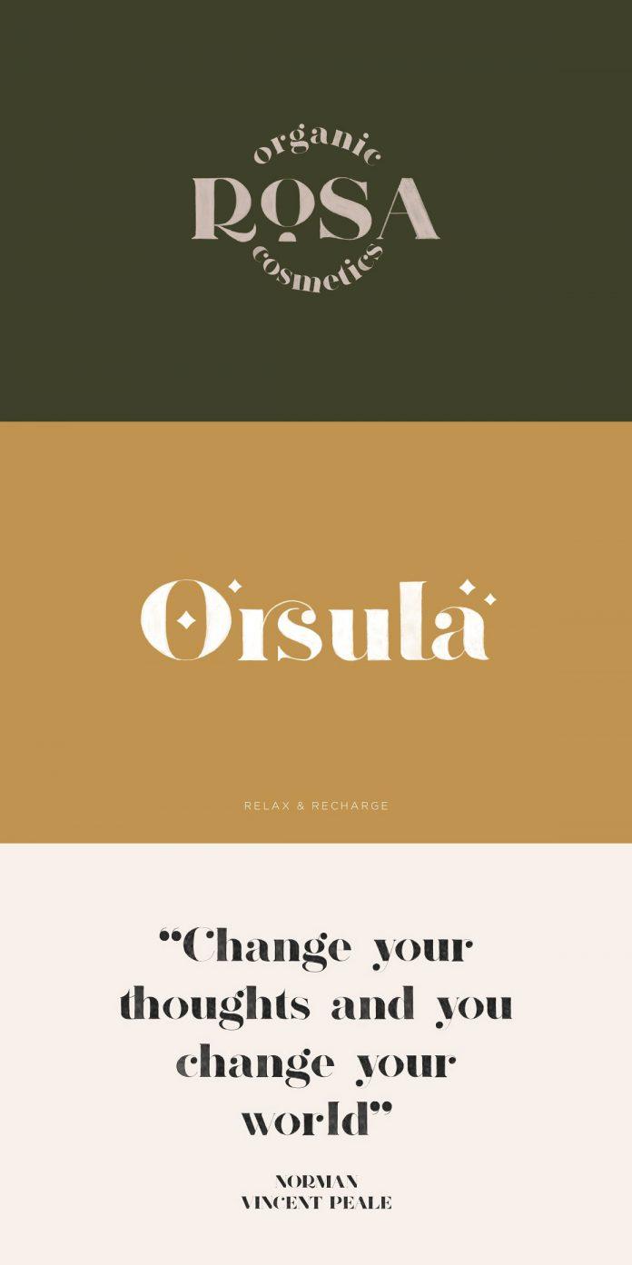 OpenType SVG font design by Elvina Gafarova.