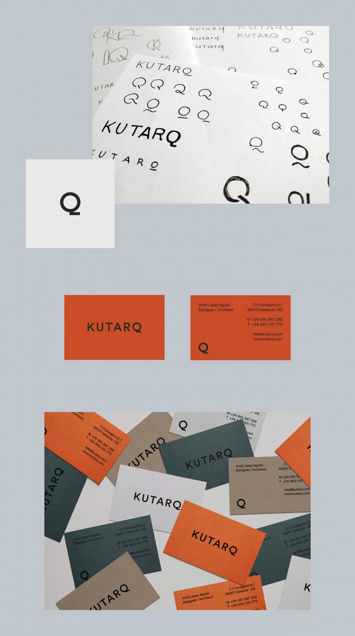 Rebranding by Tomomi Maezawa for the Spanish design and architecture studio, KUTARQ.