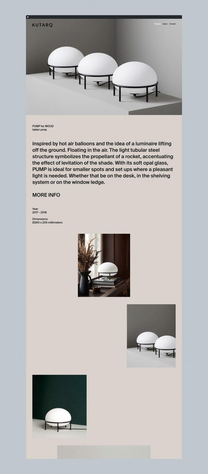 Rebranding by Tomomi Maezawa for the Spanish design and architecture studio, KUTARQ.