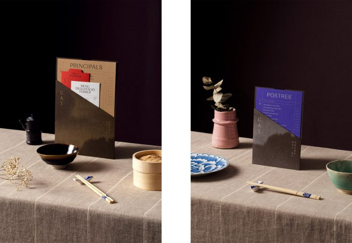 Art direction and graphic design by Guud Studio for the restaurant Out of China.