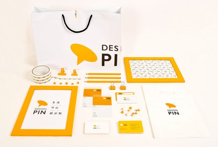 Design Pin branding by TU DESIGN OFFICE.