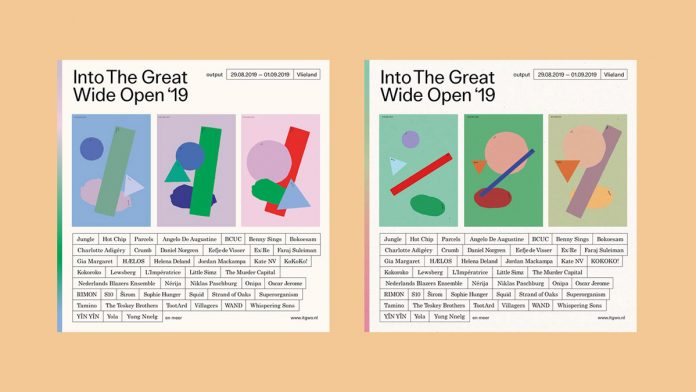 Into The Great Wide Open (ITGWO) - music festival identity design by CLEVER°FRANKE and Studio Bas Koopmans.