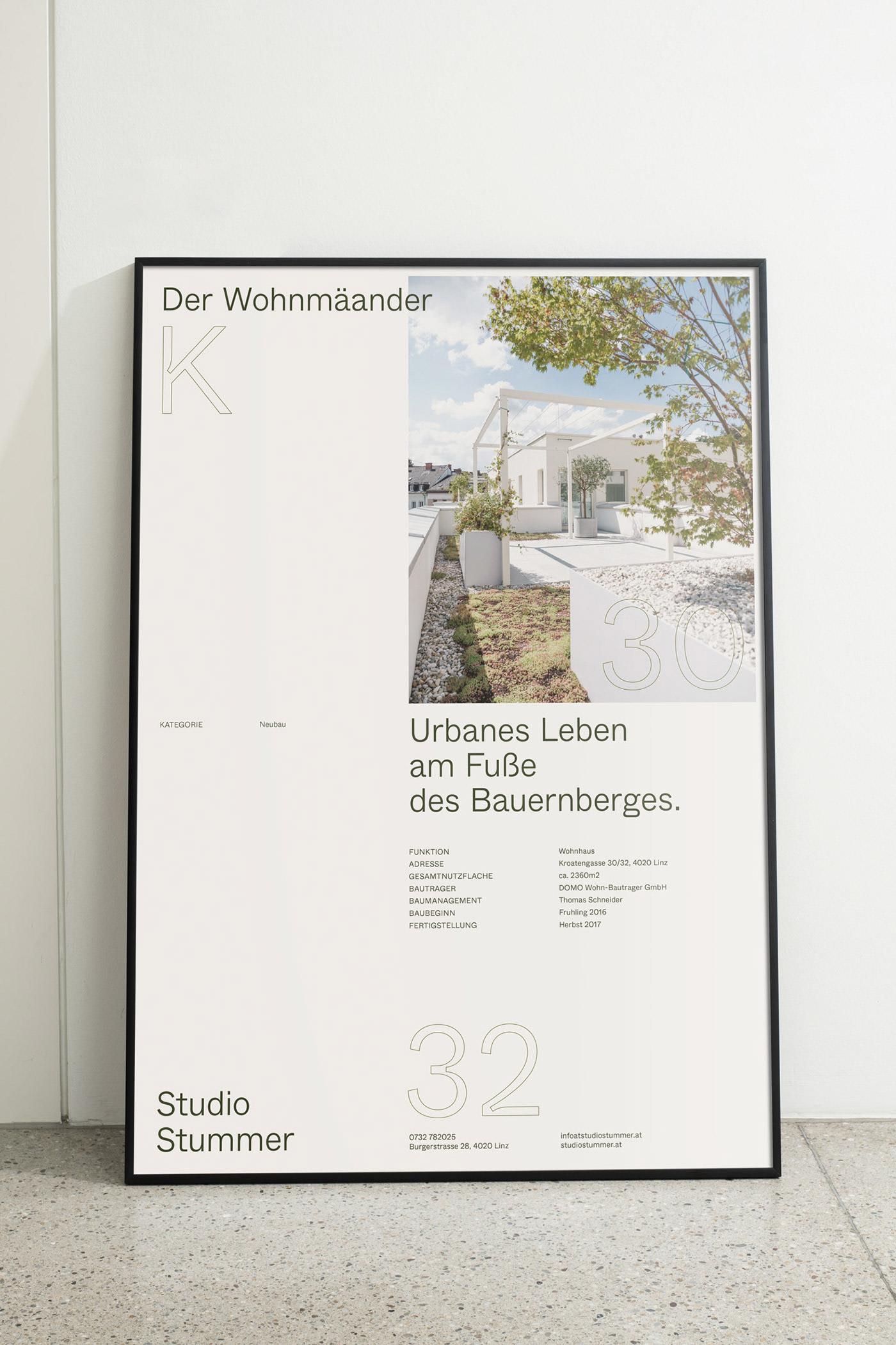 Studio Stummer branding by agency Gletscher.