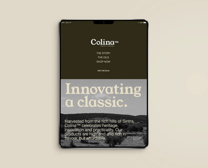 Colina branding by NOANCE Studio