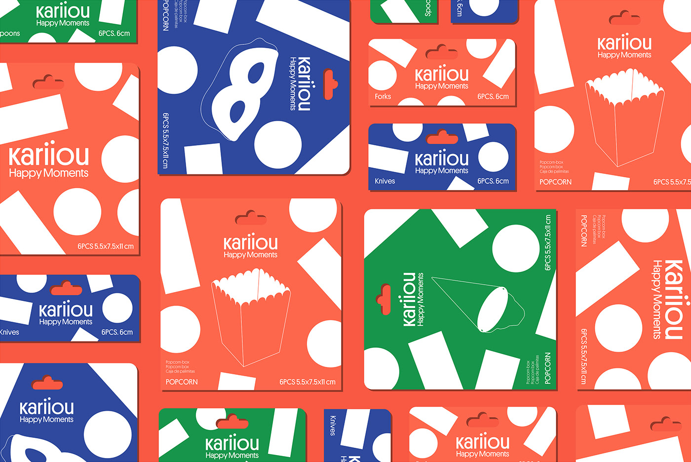 Kariiou branding by Toormix Design Agency.