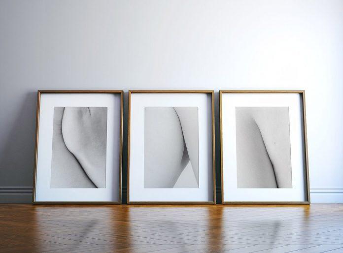 Minimal Body Photo Series by Antonia V. Baramova.