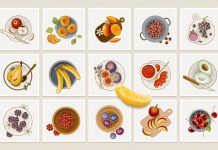 25 Colorful Fruit Icons