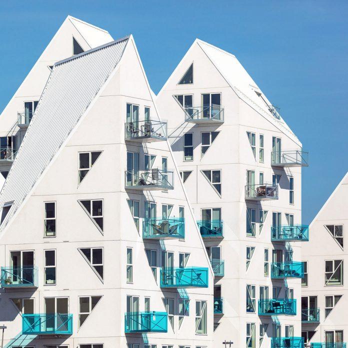 Iceberg residence in Aarhus, Denmark