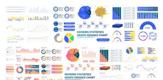 Modern infographics and dashboard templates created by Adobe Stock contributor ZinetroN as fully editable vector graphics.