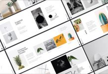 A multi-purpose portfolio brochure template for Adobe InDesign.