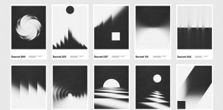 Sonnet posters by graphic designer Xtian Miller.