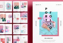 A unique portfolio template for Adobe InDesign.