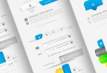 Web UI Navigation Kit by Adobe Stock contributor Liquid Layout.