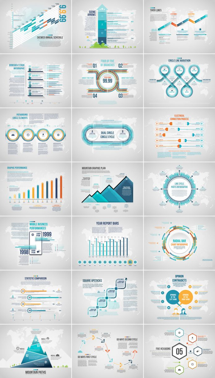 Download Fully Editable and Eye-Catching Infographics