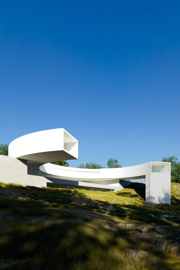House of the Sun by Fran Silvestre Arquitectos.