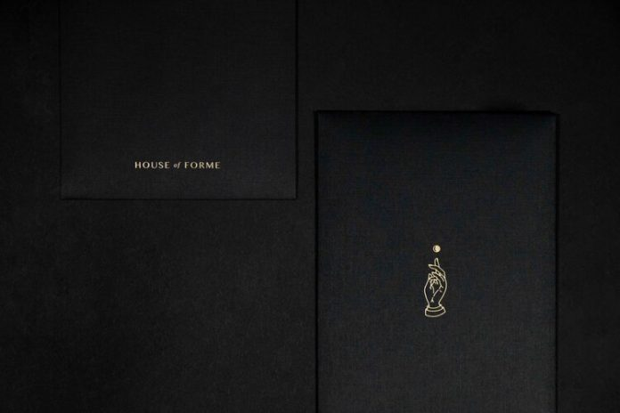 PR brand activation package for House of Forme's company launch.