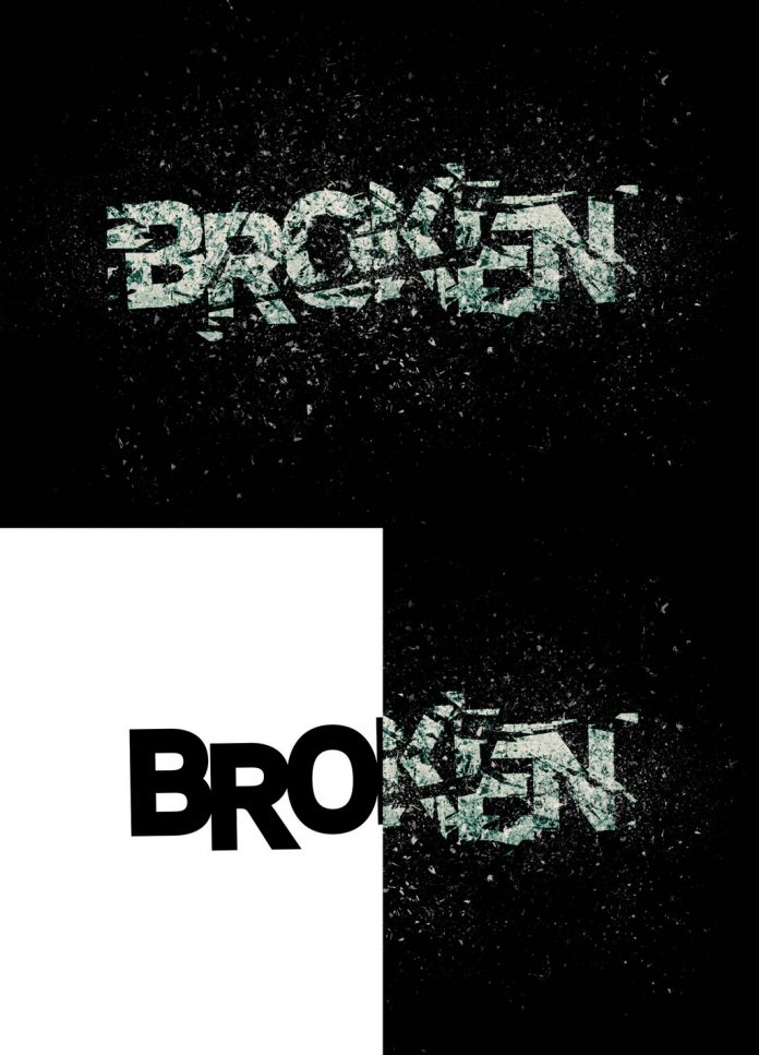 Using this Photoshop action, you can create exploding text effects in no time