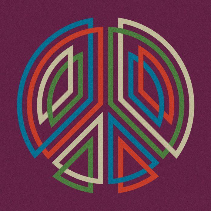 Peace Sign: graphic interpretation by Matt W. Moore.