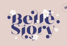 Belle Story font family by Kadek Mahardika of Creativemedialab.