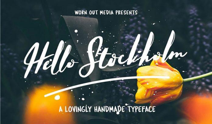 Hello Stockholm Typeface