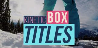 Modern Kinetic Box Titles for use in Adobe Premiere Pro