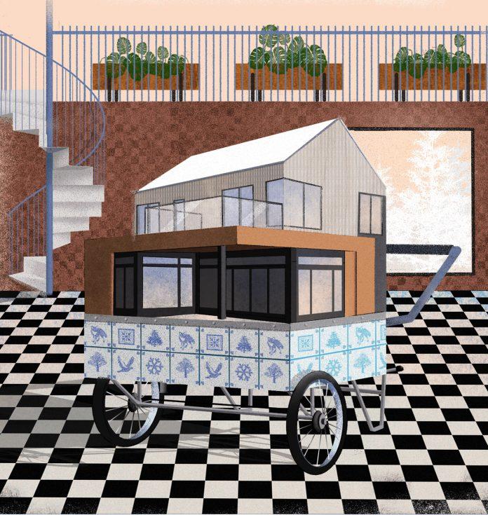 Modern Scandinavian House Mode