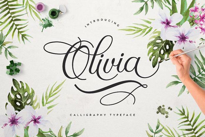 Olivia Script Free