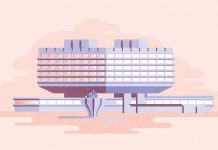 Prague's Brutalist Buildings Illustrated by Tomas Brechler