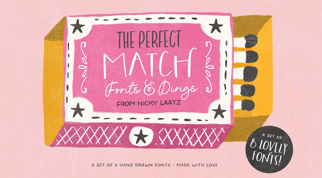 The Perfect Match Fonts