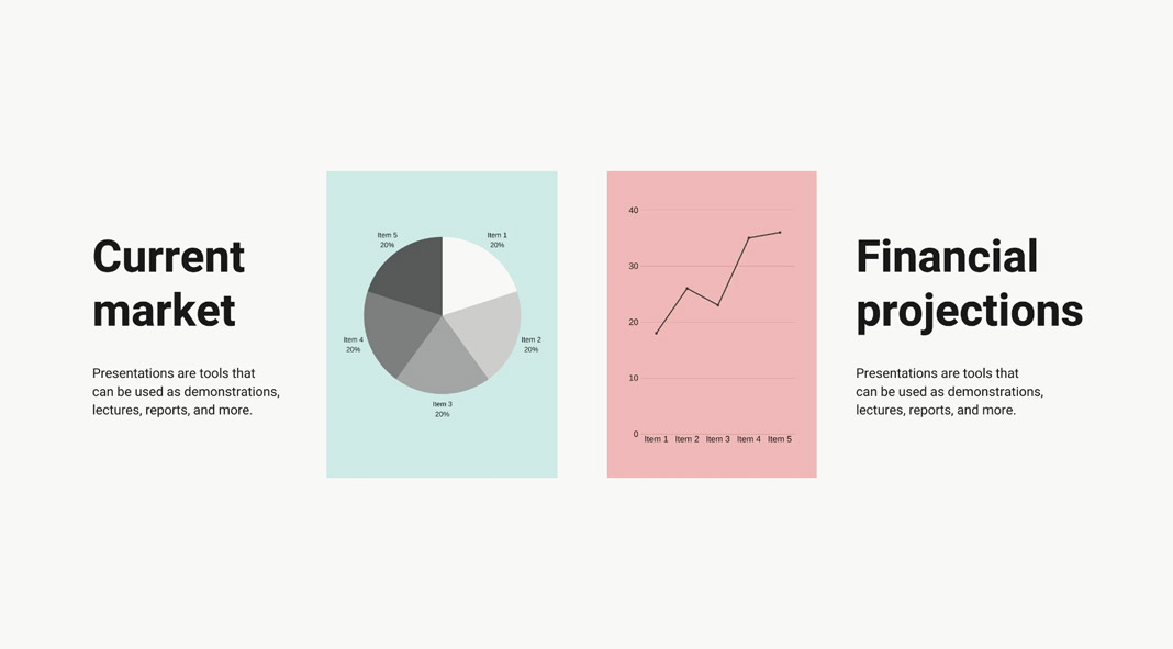 The ten best free Canva presentation templates in 2020.