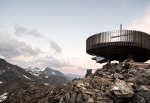 """Ötzi Peak 3251m"", a new observation deck on the Schnals Valley Glacier designed by noa* network of architecture."