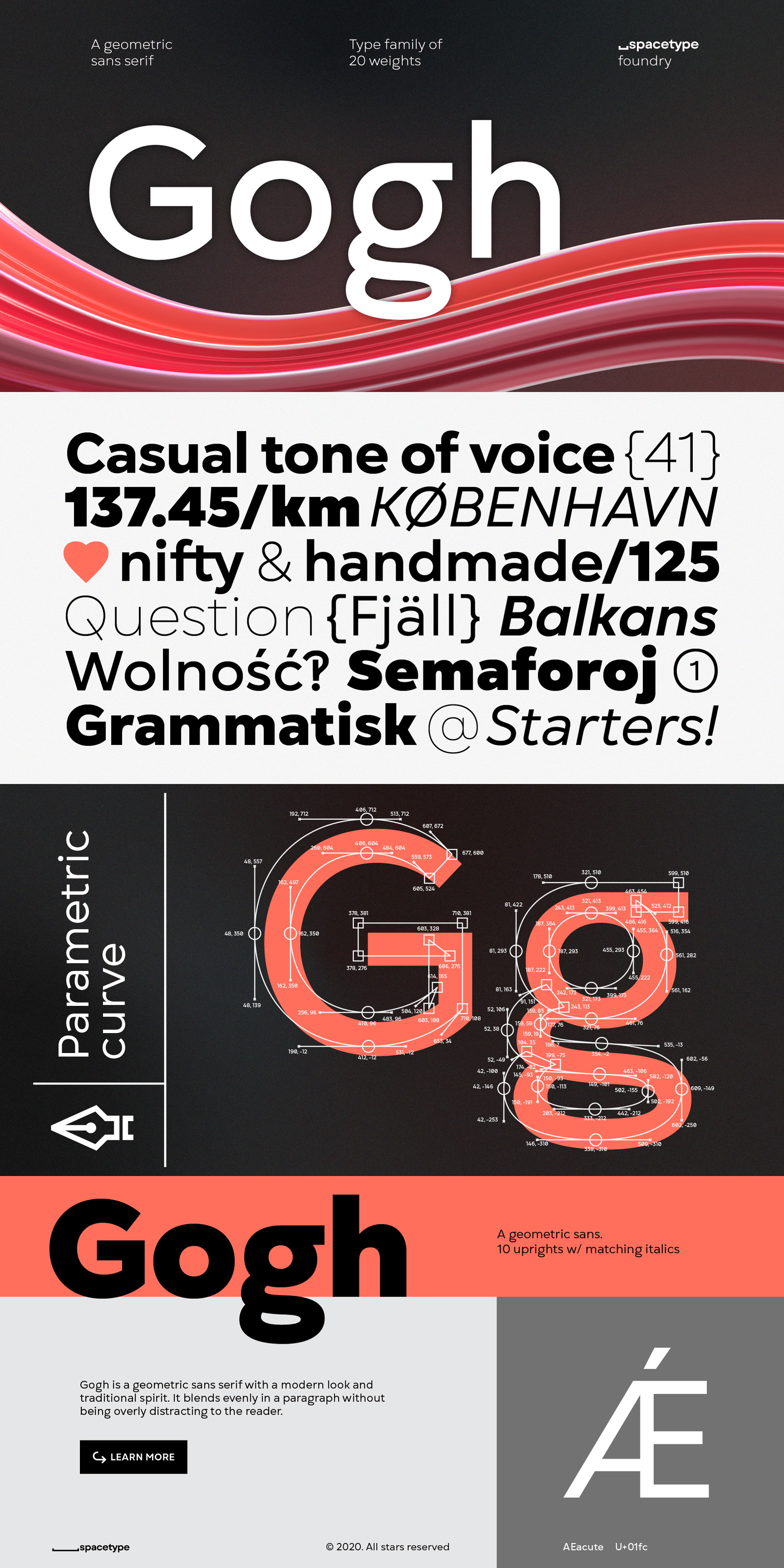 Gogh Font Family by Spacetype