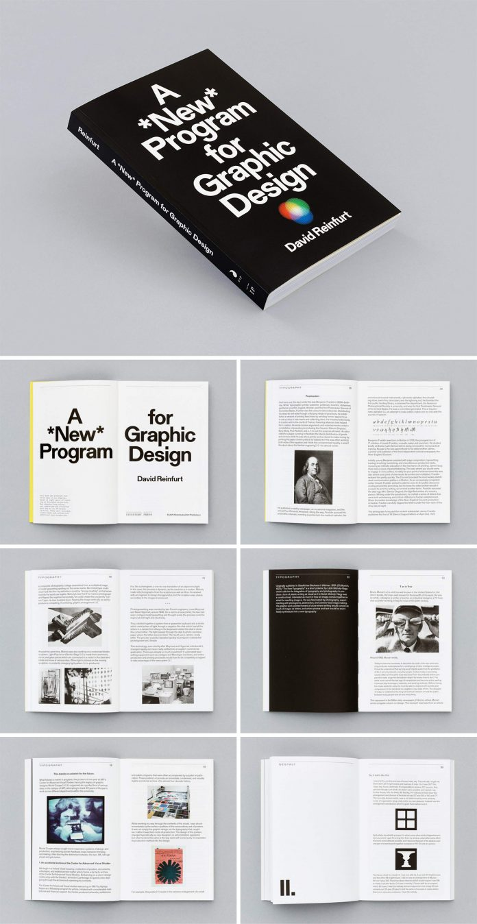 A New Program for Graphic Design by David Reinfurt.