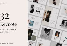 32 Professional Keynote Templates from PixaSquare